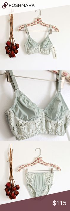 BNWT Fortnight high waist lingerie set! BNWT both pieces included! Top is a 34B and retails for $110 alone. Bottom is a small and retails for $62. High waist! Super gorgeous set. I would be keeping if I wore lingerie often haha. Intimates & Sleepwear Bras