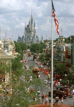 Walt Disney World Resort in Lake Buena Vista, #Florida (actually 20 miles south of Orlando) is home to four major theme parks and two water parks, in addition to a wedding pavilion, a speedway, five golf courses and 33 resorts.