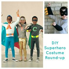 diy superhero costume round up