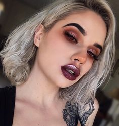 "19.6k Likes, 183 Comments - Lauren Rohrer  (@laurenrohrer) on Instagram: ""V a m p i r e Valentine  . . #lips @limecrimemakeup Dreamgirl Velvetine + Cheap Thrill Diamond…"""