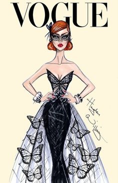 Hayden Williams for Vogue Fashion illustration