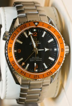 Omega Seamaster Planet Ocean GMT Watches Hands-On