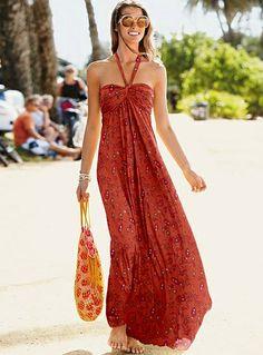 Maxi dress, maxi effect!