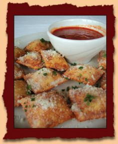 Authentic St. Louis Style toasted ravioli that you can find on the menu of any resturaunt in St. Louis. When I moved to Las Vegas, Nevada, I was suprised to find out that no one had even HEARD of these tasty treats that I had so often taken for granted when I lived in St. Louis.  What is an out-of-towner, or in my case a relocated St. Louis Native, to do? Follow this recipe of course! Memories of Imos or Cecil Whittakers pizza will surely ensue...ENJOY!