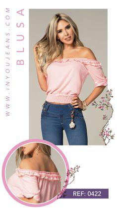 Las blusas nos diferencian por nuestra calidad y diseños. Conoce más de estos hermosos diseños con la marca número uno en Colombia. Off Shoulder Blouse, Tops, Women, Fashion, Athletic Wear, Pastor, Feminine Fashion, Moda, Fashion Styles