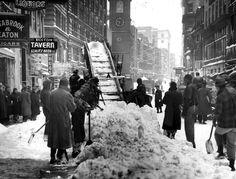 Snows of winters past - The Boston Globe