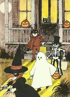 It's Halloween by Jack Prelutsky, illustrated by Marylin Hafner