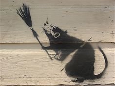 Banksy in New Orleans Katrina  Supertouch
