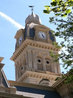 The Shelby County Courthouse in Sidney, Ohio.