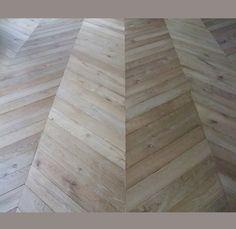 French Oak herringbone flooring