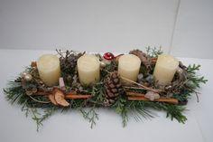 Adventskranz - Adventsgesteck - ein Designerstück von Inna-Dueck bei DaWanda