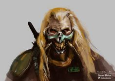Immortan Joe [Mad Max Fury Road] |Speed Painting | Watch it here https://www.youtube.com/watch?v=owL5dKYmUv0