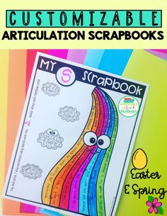 Inject some creativity, engagement and flexibility in your speech therapy with these customizable articulation worksheets. They are spring and easter themed and will give with tons of sessions and homework opportunities