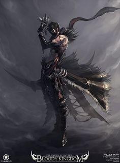 #male #assassin #dark #kunai