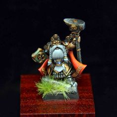 www.miniakh.it Dwarf Runelord for Warhammer Fantasy Battles. Games Workshop