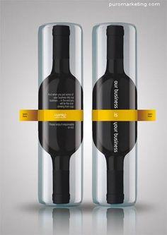Packaging 25 Creativas botellas de Vino con diseno exclusivo - Puro Marketing