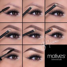 When it comes to eye make-up you need to think and then apply because eyes talk louder than words. The type of make-up that you apply on your eyes can talk loud about the type of person you really are. Eyebrow Makeup Tips, Contour Makeup, Skin Makeup, Beauty Makeup, Makeup Eyebrows, Makeup Drawing, Drawing Eyebrows, Drawing Drawing, Makeup Eyeshadow
