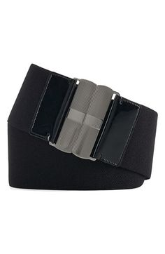Free shipping and returns on Lauren Ralph Lauren Wide Elastic Belt at Nordstrom.com. A wide stretch belt with a logo-debossed, textured silvertone clasp closure nips in your waist for pretty shaping.
