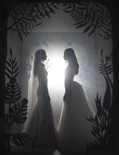 Wedding dresses CONTEMPORARY PRINCESS DIORAMA Fall 2016 Collection - Fall Wedding Dresses, Fall Dresses, Ersa Atelier, Contemporary Dresses, Fall 2016, Diorama, Bridal, Princess, Collection