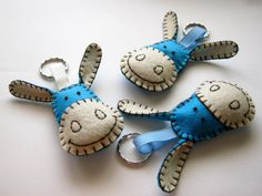 Felt keychain Nouky and friends characters  Paco the by DusiCrafts
