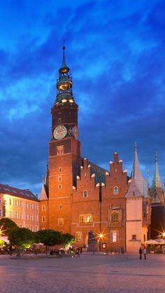 Wroclaw Town Hall,  Poland