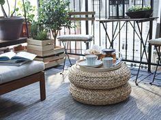 Mesas improvisadas. #decoração #primavera #exterior #IKEAPortugal