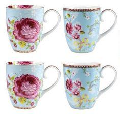 Pip Studio, Julie Campbell, Dish Display, Duvet Covers, Tea Cups, Coffee Mugs, Porcelain, Vintage, Tableware