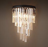 Helix Glass Sconce