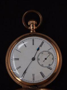 Antique Waltham Gold Pocket Watch   Gold by BelmontandBellamy, £44.00