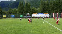 Juniors play at Sepp Blatter tournament in Ulrichen, 2014