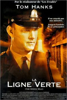 La Ligne Verte (The Green Mile) 1999 - by Frank Darabont - Tom Hanks / David Morse / Michael Clarke Duncan 10 Film, Film Movie, Films Cinema, Cinema Posters, Movie Posters, Tom Hanks, John Coffey, Harry Dean Stanton, Grand Film