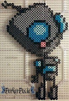Gir Invader Zim perler beads by PerlerPixie
