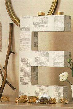 Papieren Letter: leuk met een bijzondere tekst van bv een gedicht of favoriete songtekst