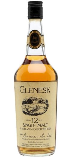 Glenesk 12 yo Single Highland Malt Scotch whisky - official bottling for the spanish market from 80s