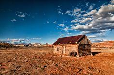Little house on the Utah prairie near Kodachrome State Park. Photo by Joe E.