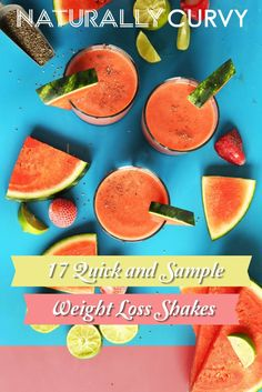 17 insanely quick and simple Weight Loss Shakes that you can use right now.