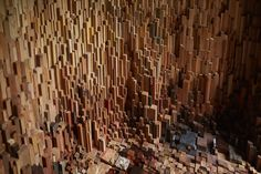 "Katie Paterson and Zeller & Moye Create ""Hollow"" With Over 10,000 Wood Specimens,Courtesy of University of Bristol and Situations. Photo: Max McClure"