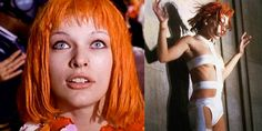 Mila Jovovich as Lee-Loo in The Fifth Element (Luc Besson film)