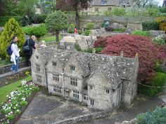Photo of Model Village at Bourton-on-the-Water, Gloucestershire. The Cotswolds, by William Bedell - Pictures of England Royalty Free Stock Photos Wonderful Places, Great Places, Places To See, Beautiful Places, England And Scotland, England Uk, Pictures Of England, Bourton On The Water, Model Village