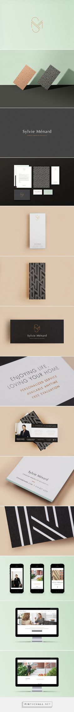 Sylvie Menard Premium Real Estate Broker by ByeBye Bambi | Fivestar Branding Agency – Design and Branding Agency & Curated Inspiration Gallery