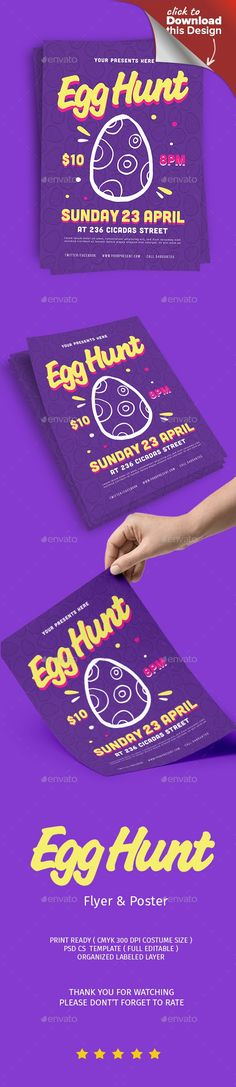 Party Proposal Template Enchanting Easter Flyer  Flyer Printing Print Templates And Template