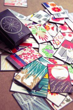Hanafuda design by LA artist Parish Cherry