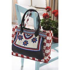 Moss-stitch Bag knitting pattern