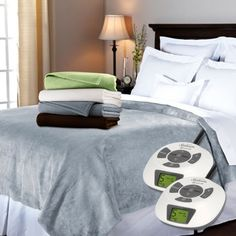 23 Best Dual Control Electric Blanket Images Afghans