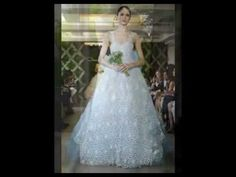 CROCHET IRLANDES- Vestido de novia- Colocacion de Motivos - YouTube
