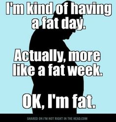 Funny fat and exercise qoutes