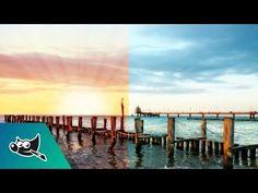 GIMP Tutorial: Sunrise Effect - YouTube