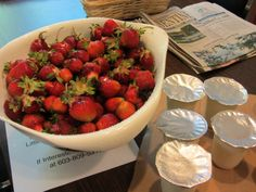 What Could Be A Better Combination than Our Stawberries and Vanilla Yogurt?