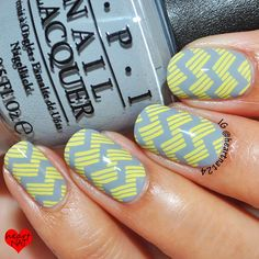 OPI Cement The Deal & MoYou London Fashionista 04