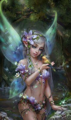 Fairy Art Gallery - LEGENDARY LANDS - Earth Monster World